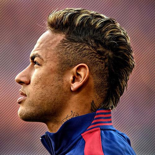corte de cabelo Neymar