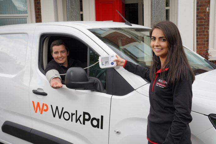 A empresa de software de Belfast, WorkPal, tem parceria com a Action Cancer para encorajar os homens a aproveitar os serviços de prevenção e apoio da instituição de caridade