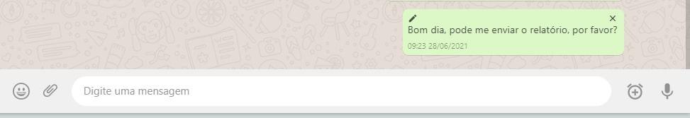 Saiba como agendar mensagens no WhatsApp Web