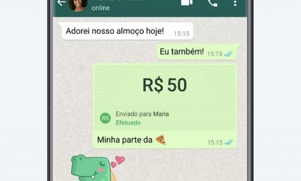 WhatsApp libera transferência bancária no app para brasileiros
