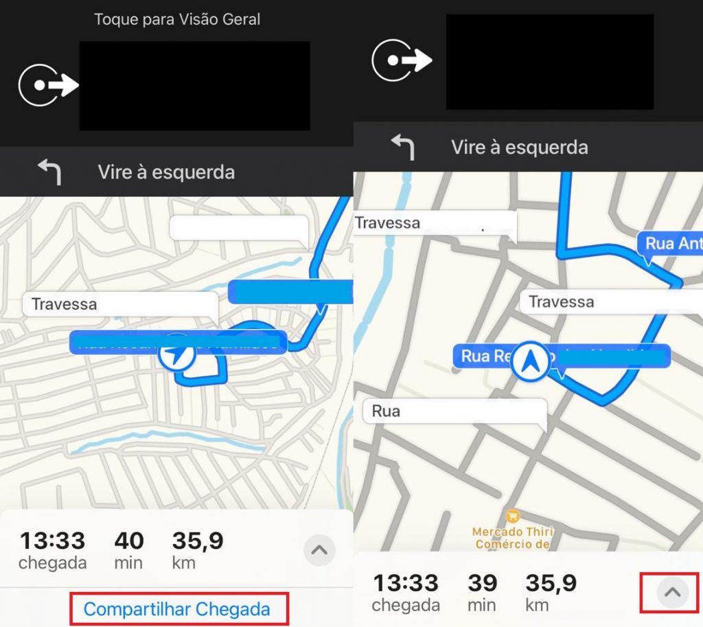 Apple Maps: como compartilhar o tempo de chegada pelo iPhone